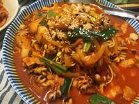 韓式辣炒章魚五花肉