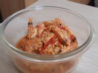 開胃下酒菜:避風塘燒酒蝦