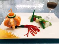 燈籠和風鮮蝦