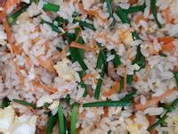 韭菜花炒飯
