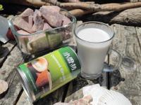 自製椰香芋奶凍飲