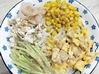 雞肉蝦仁涼麵
