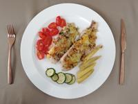 全聯食譜之爸爸回家做晚飯-焗烤鯛魚好友菇