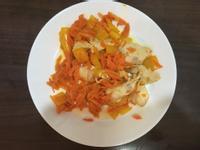 彩椒炒鷄肉~康寶 自然鮮 嫩雞風味調味料