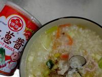 肉絲蛤蠣粥