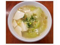 【輕食料理】絲瓜豆腐湯