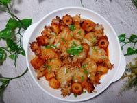 韓式一口小花枝❤️氣炸鍋料理
