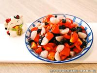 黑木耳蒟蒻佐蜜餞番茄.柯媽媽の植物燕窩