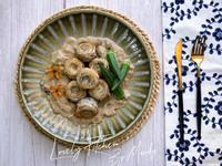 法式白帶魚卷佐蕈菇醬