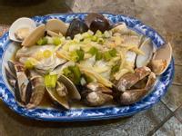 清蒸蛤蜊魚