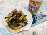 涼拌魷魚(咖哩口味)(牛頭牌咖哩炒醬)