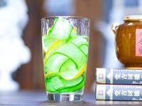 黃瓜檸檬氣泡水(美白消水腫,蘇打水飲品)