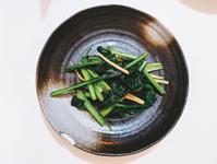薑炒小松菜 - 5 分鐘便當菜