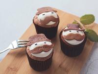 [父親節特輯]爸爸節鬆餅杯子蛋糕