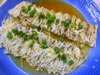 蒜香奶油金針菇-電鍋料理