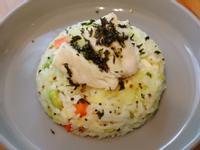 鱸魚蔬菜燉飯