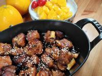 蜜香橙汁豬小排