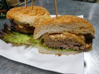 簡易花生醬牛肉漢堡