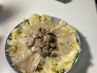 奶油蕈菇濃湯燴娃娃菜
