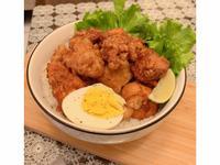 日式唐揚雞蓋飯