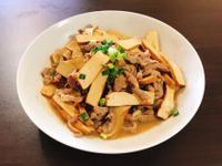 豆乾炒肉絲(家常菜)