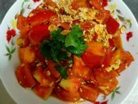 番茄紅蔥炒蛋