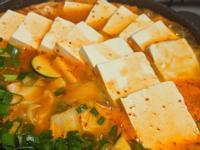 (素)韓式泡菜豆腐年糕鍋-一鍋到底