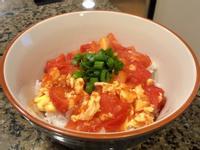 番茄炒蛋蓋飯