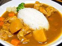 梅花豬肉咖哩飯