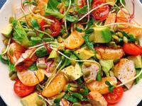 香煎鮭魚酪梨溫沙拉