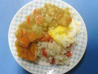 穀盛綠咖哩塊 ♥ 綠咖哩雞排炒飯 (5 人份)