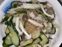 蔬菜拌冬粉