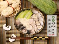 絲瓜魚皮蛤蜊麵線 - 夏季清爽暖心料理