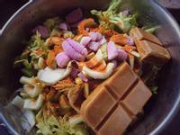 南洋風蔬菜咖哩(電鍋完成)