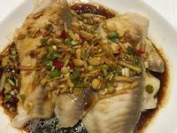 清蒸無骨鯛魚片佐酸辣醬油
