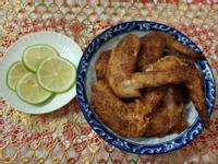 炸香酥雞翅