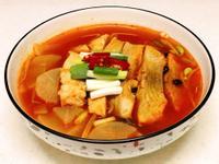 [韓式辣魚湯]全聯嚴選海鮮料理