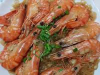 蒜蝦燴冬粉
