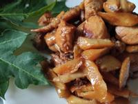 不油料理─麻油嫩薑燒雞