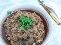 梅乾菜蒸肉-客家菜