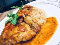 一鍋到底歐洲風味菜~獵人燉雞
