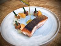 鮭魚/柳橙/洋蔥