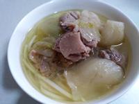 酸菜鴨湯麵