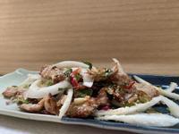 泰式豬頸肉沙拉