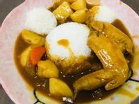 蘋果雞翅咖喱