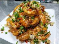 免剝殼胡椒蝦-下酒菜
