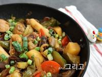 韓國安東燉雞作法 (不辣)) 안동찜닭
