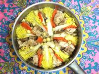 野菜鮮菇嫩雞燉煮