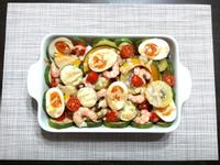 黃金銀芽鮮蝦沙拉