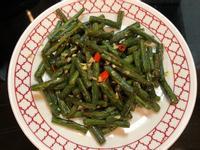 香蒜辣炒四季豆